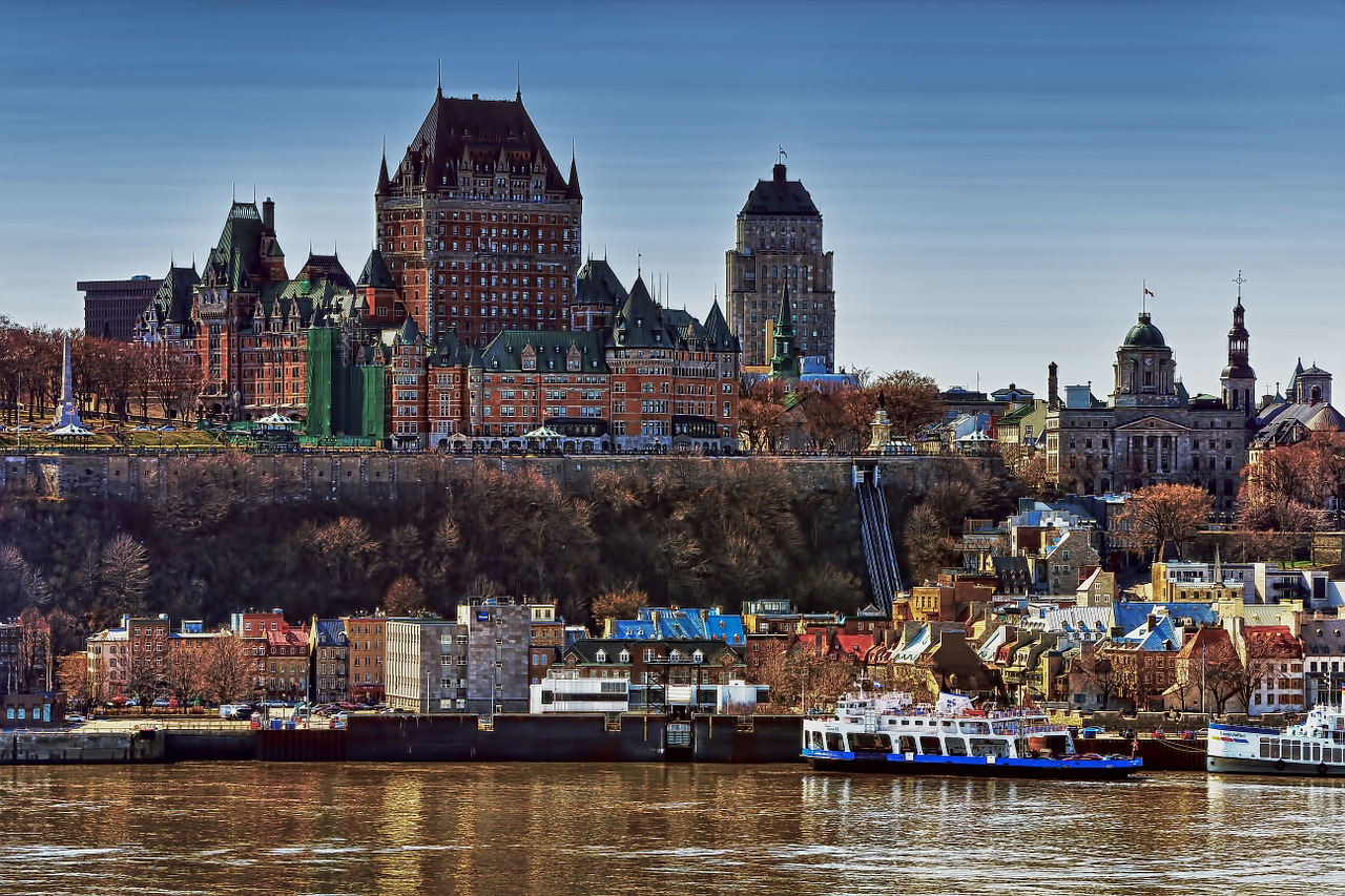 Quebec City castle