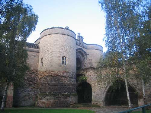 Nottingham Castle Gate