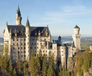 Neuschwanstein fairy tale castle