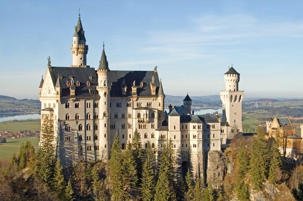 Neuschwanstein fairy tale castle