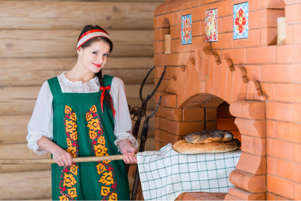 Russian stereotypes – rustic culture and traditions.